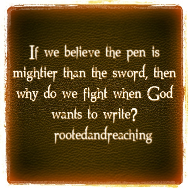 Let God Write